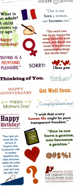 birthday quotes to a friend. (Though I don't think the ones like 'Happy Birthday' are quotes from her.)